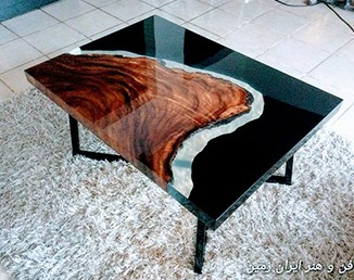 چوب و رزین (Wood Glass)