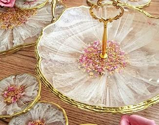 ظروف حجیم ، فلت رزینی و قالب های دست ساز